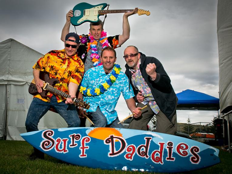 Surf Daddies, 2014. Photograph by Mark Fa'amaoni, courtesy of Surf Daddies and Mark Fa'amaoni