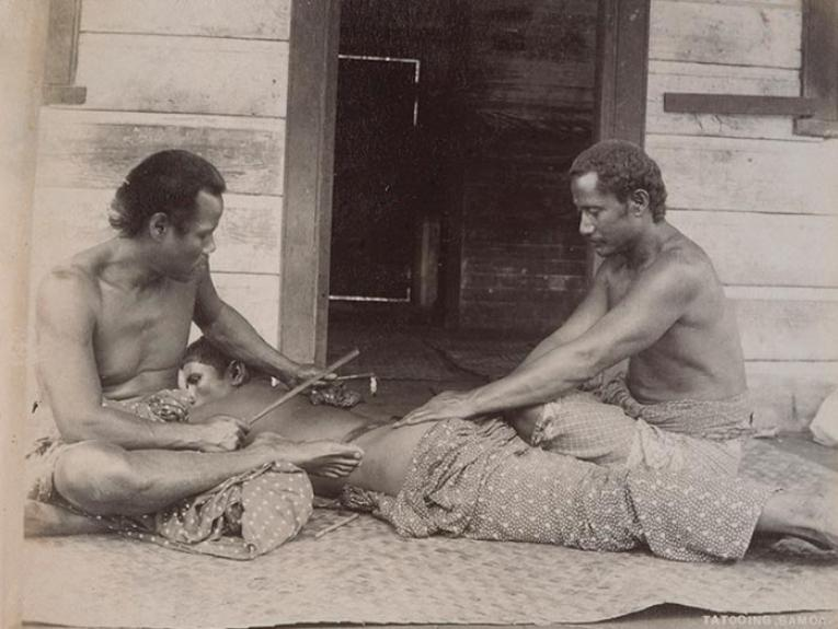 Traditional tattooing