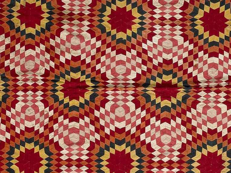 Tïvaevae ta'örei (patch work quilt)