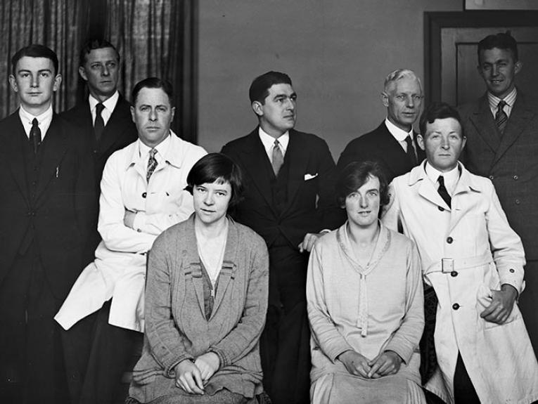 Staff photograph, 1927-1930, maker unknown, Gordon H. Burt Ltd. Te Papa (C.002439)