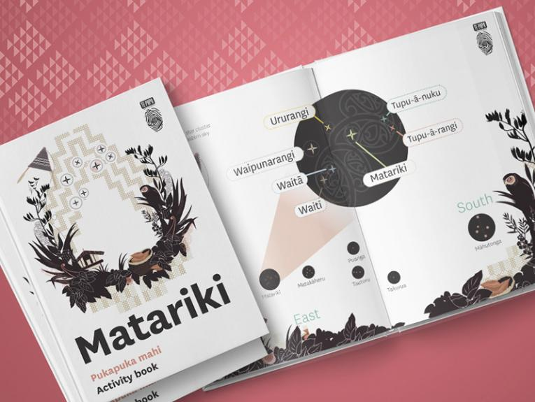 Cover of the Matariki activity book