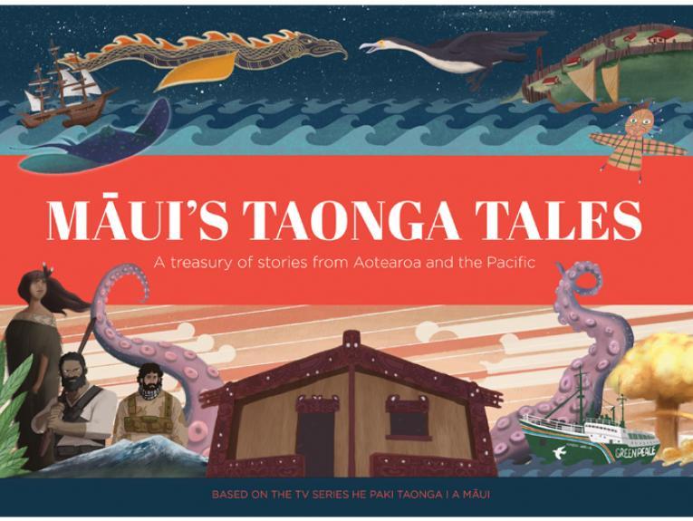 Māui's Taonga Tales_David Brechin-Smith