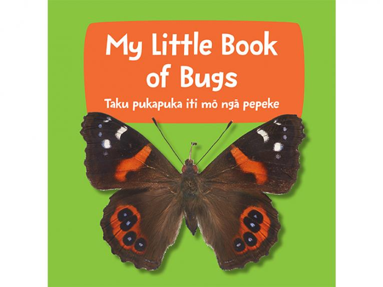 My Little Book of Bugs cover