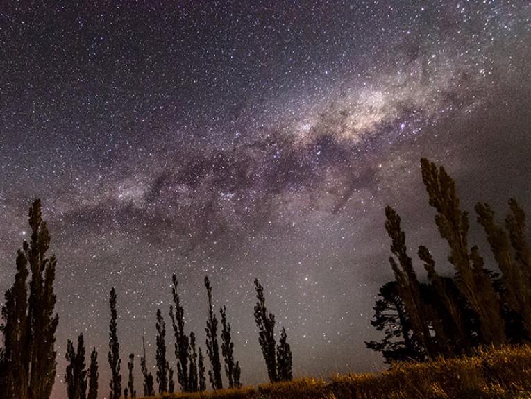Night sky in Canterbury