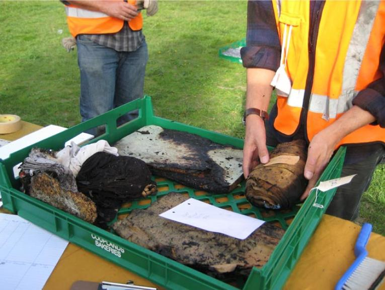Disaster recovery for collections workshop, 2013. Photograph by and courtesy of Lynn Campbell
