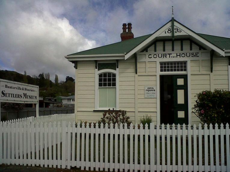 Hunterville Museum, 2014. Photograph by Sally August, Te Papa