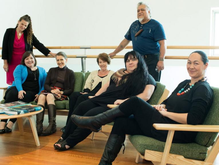 NSTP team, 2015. Photographed by Michael Hall, ©Te Papa