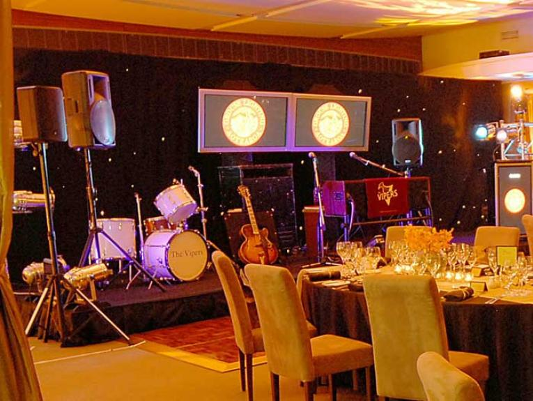 Icon venue set up