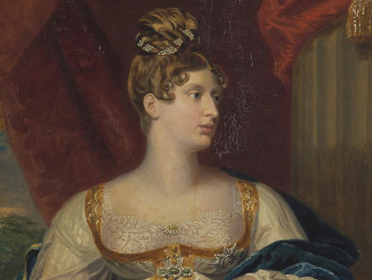 Portrait of Princess Charlotte of Wales