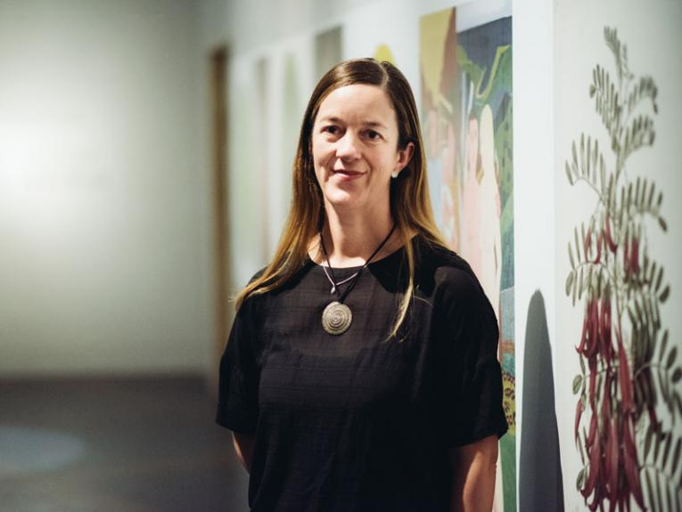 Rebecca Rice, 2017. Photo by Tim Onnes. Te Papa