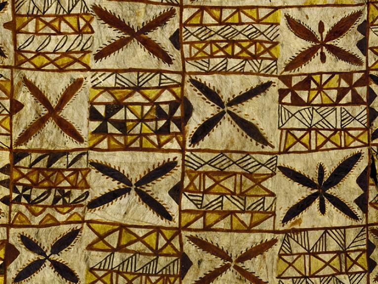 Siapo mamanu (tapa cloth) 1890s