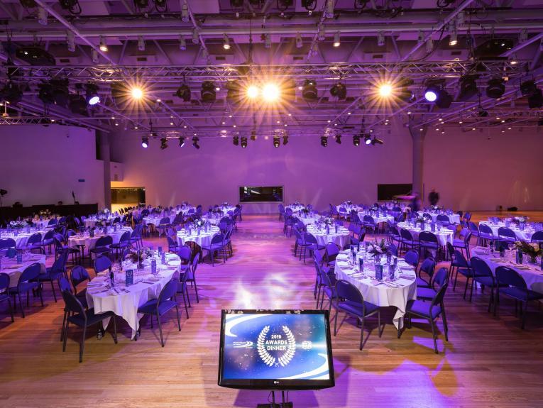 Amokura Gallery set up for an awards function