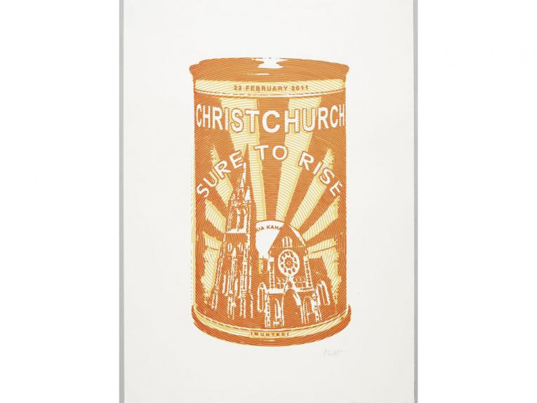 Iconic Edmonds imagery adapted to include the Christchurch Cathedral