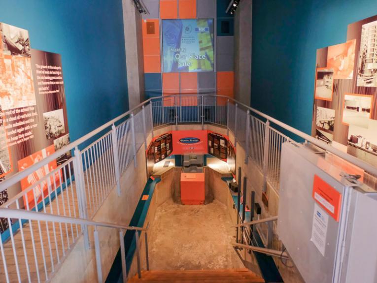 Quake Braker exhibition