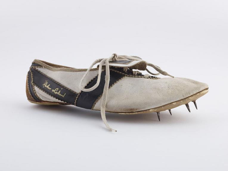Peter Snell's shoe