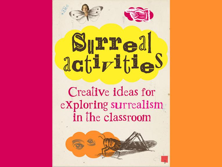 Front cover of Surreal activities teaching resource