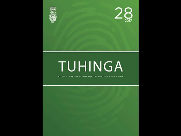Front cover of Tuhinga 28