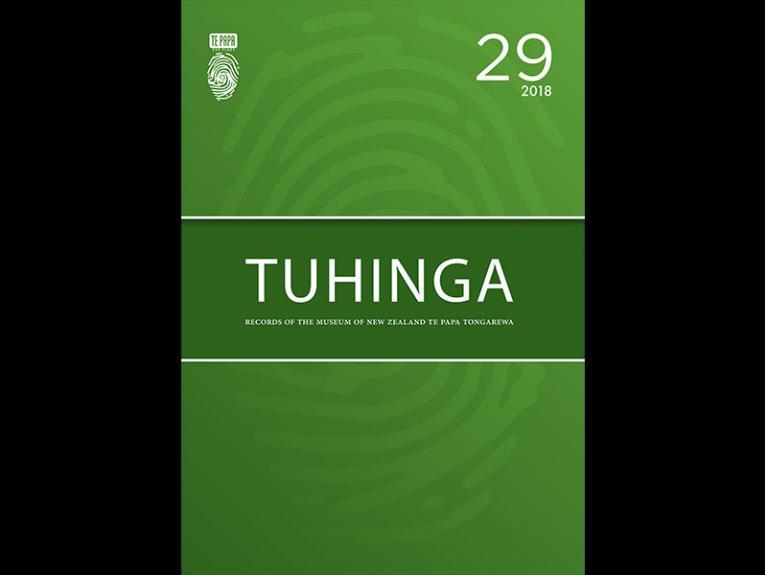 Tuhinga 29 cover