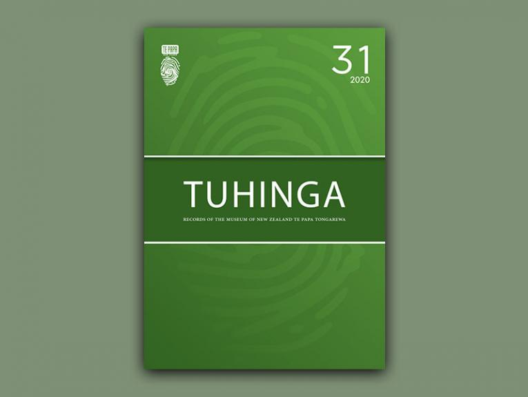 Front cover of Tuhinga 31