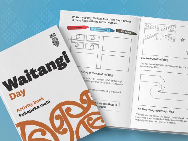 Waitangi Day activity book