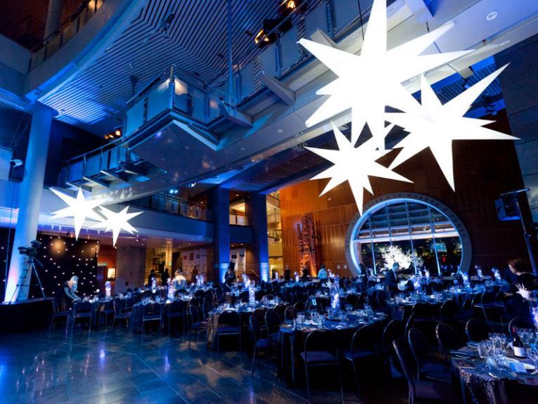 Foyer set for a banquet