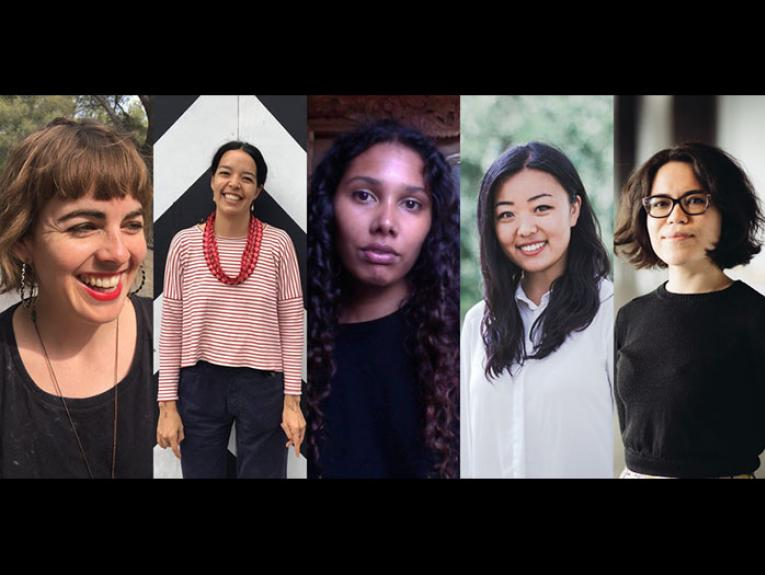 Sophie Barclay, Ahilapalapa Rands, Anisha Sankar, Julie Zhu, and Sonya Withers