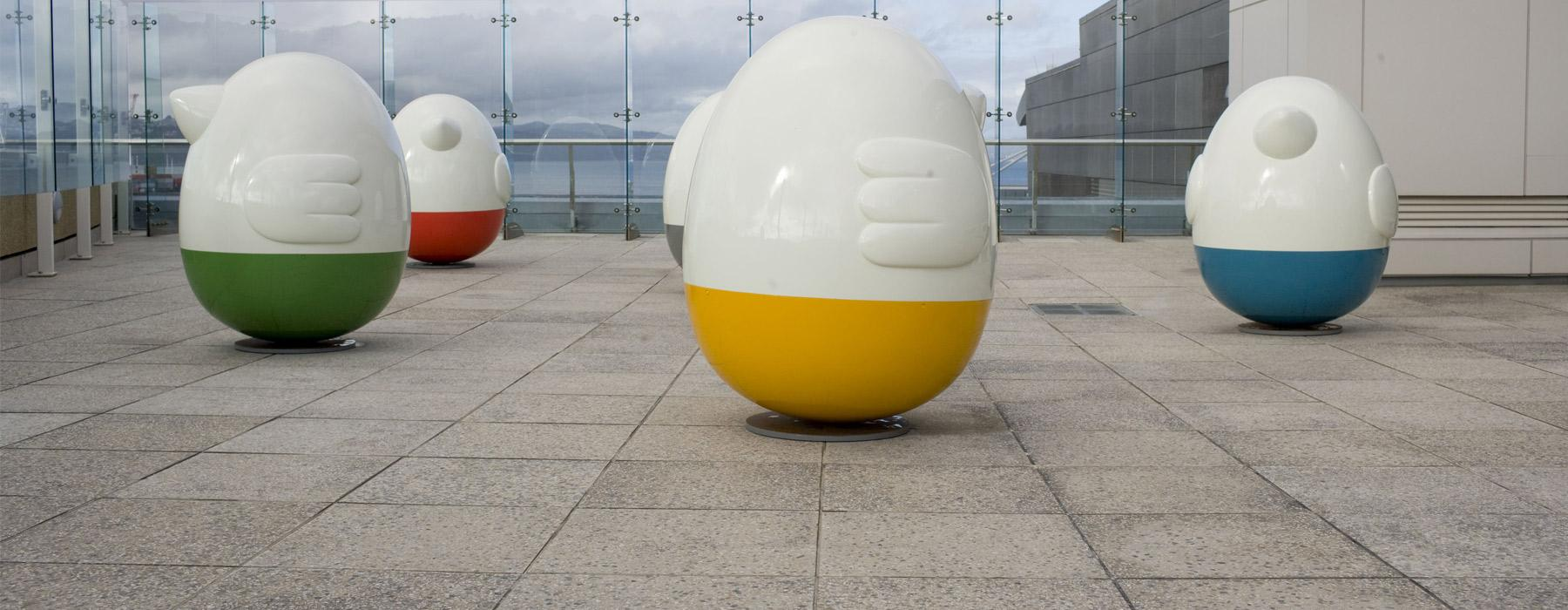 Oddooki, 2008, Auckland, by Seung Yul Oh. Purchased 2009. Te Papa (2009-0025-1/1 to 5)
