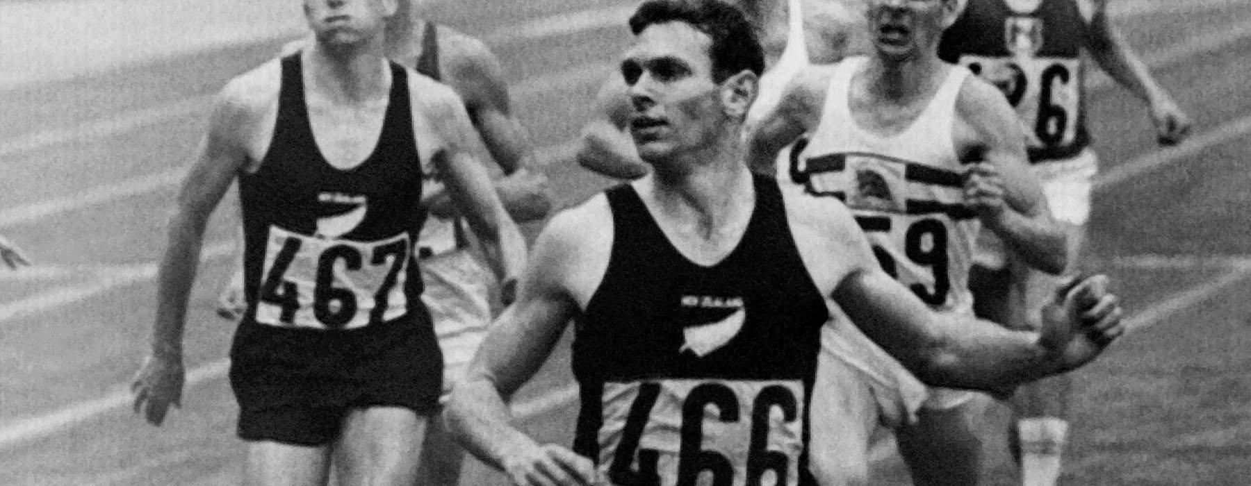 Peter Snell: Medal-Winning Magic