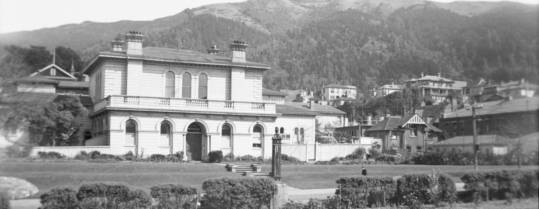 Historic photograph of Colonial Museum 1934