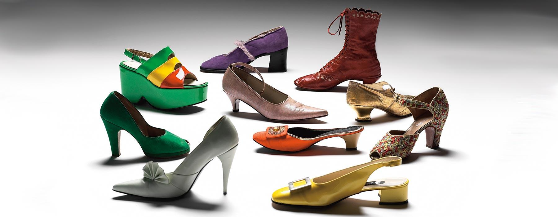 A selection of shoes