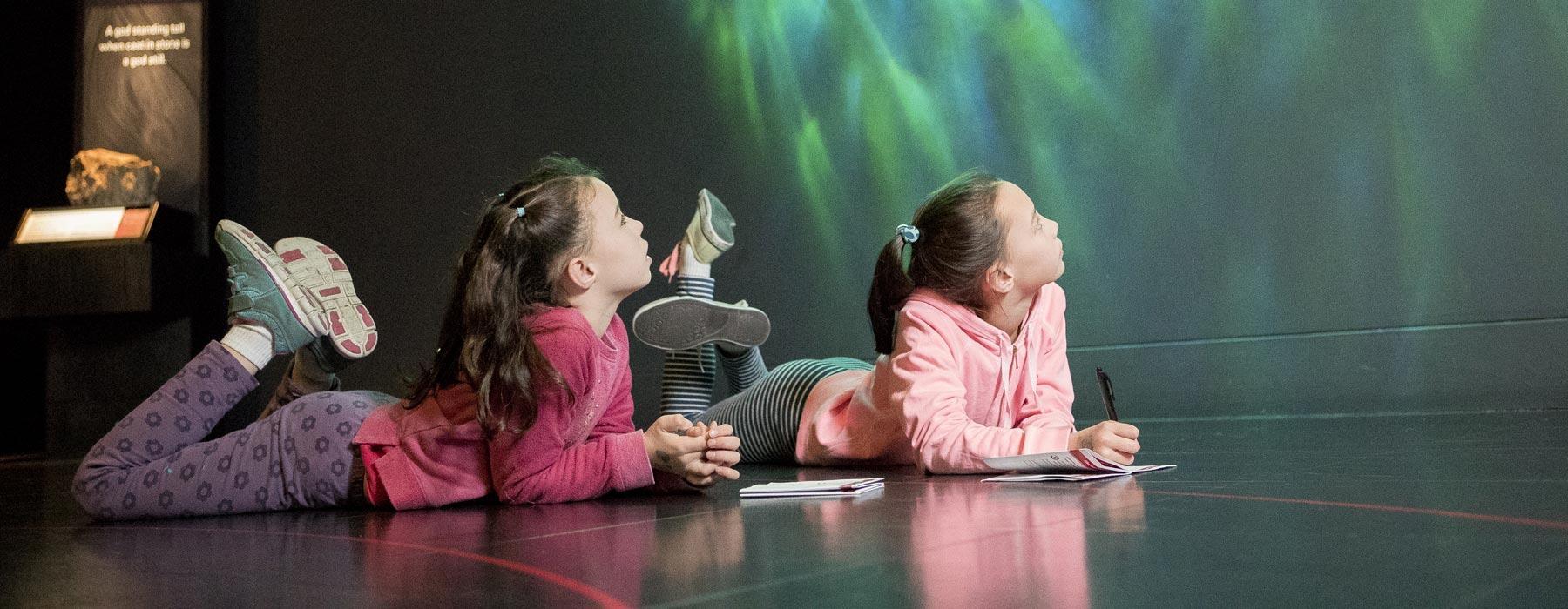 Children enjoying Te Papa