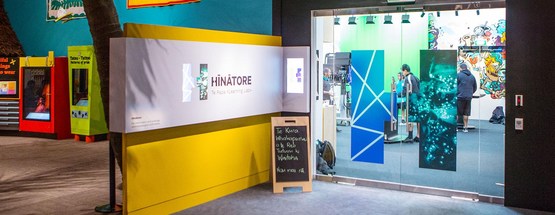 The entrance to Hīnātore | Learning Lab
