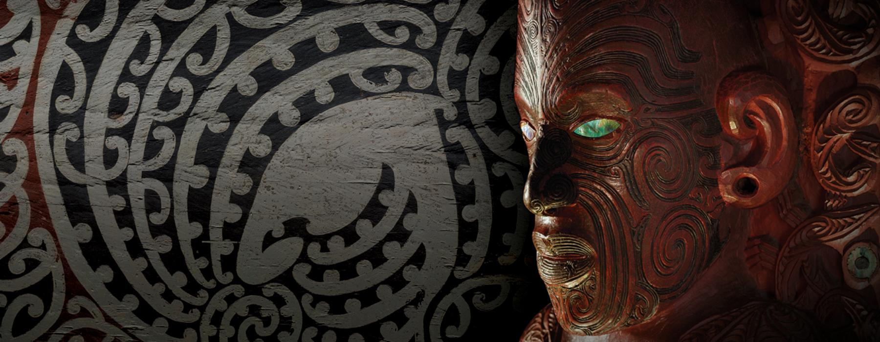Māori designs and carving