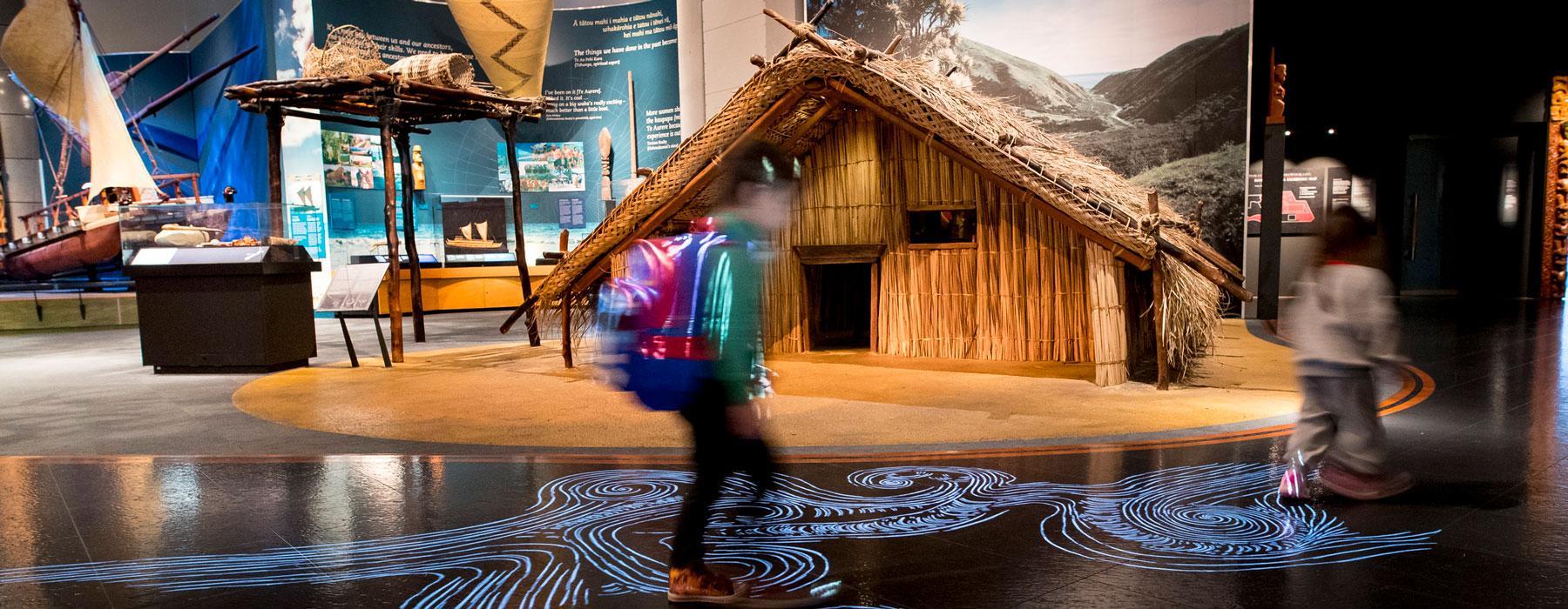Inside the Mana Whenua exhibition