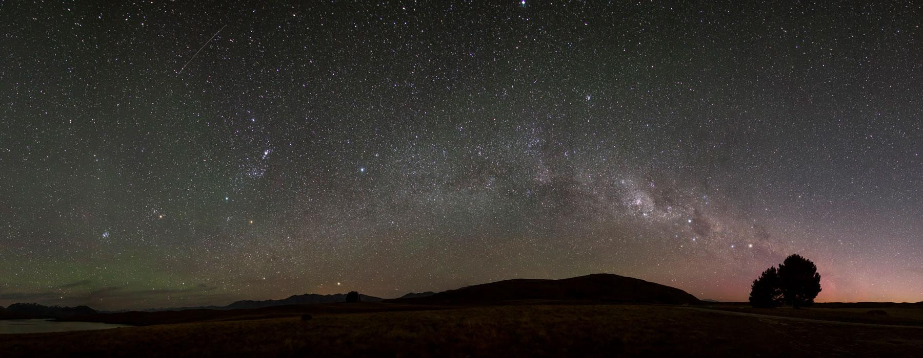 Matariki in the night sky