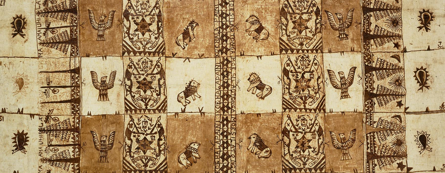 Ngatu (tapa cloth)