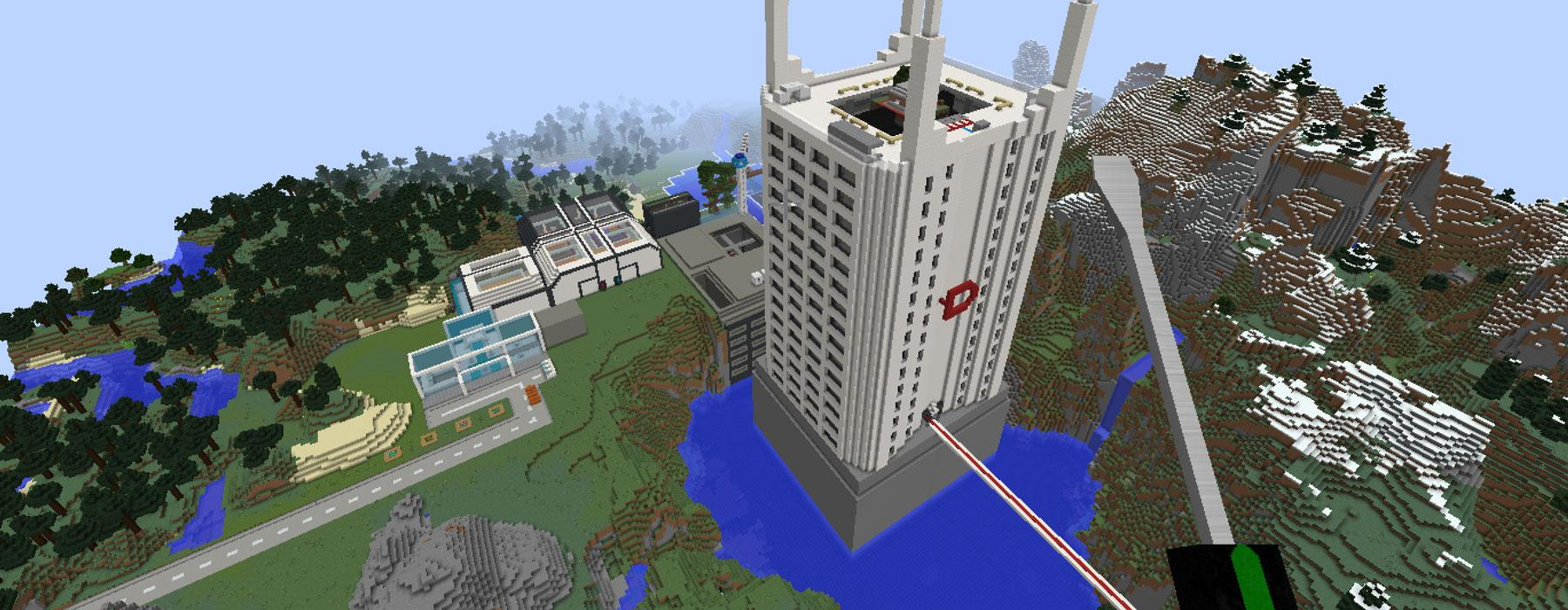 The ShakerMod Minecraft world