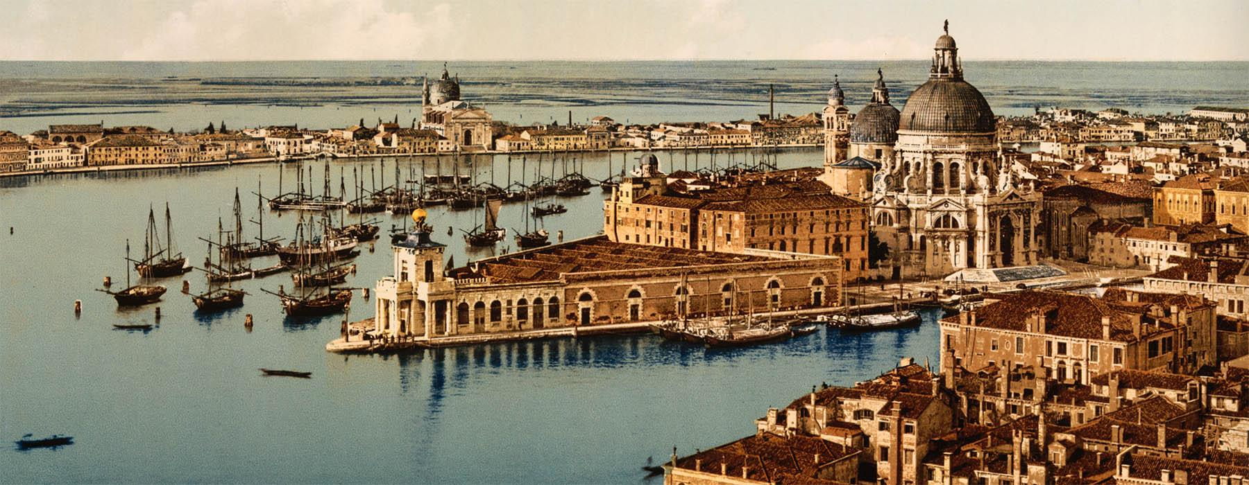 Arial view of Venice