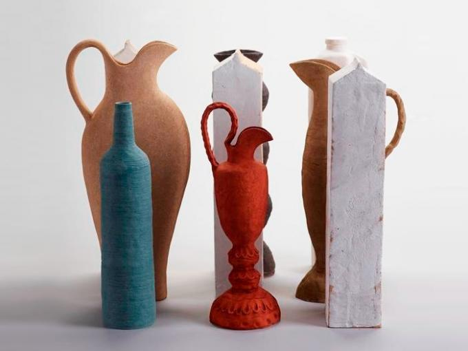 Clay - Still Life with Red Jug, 2001