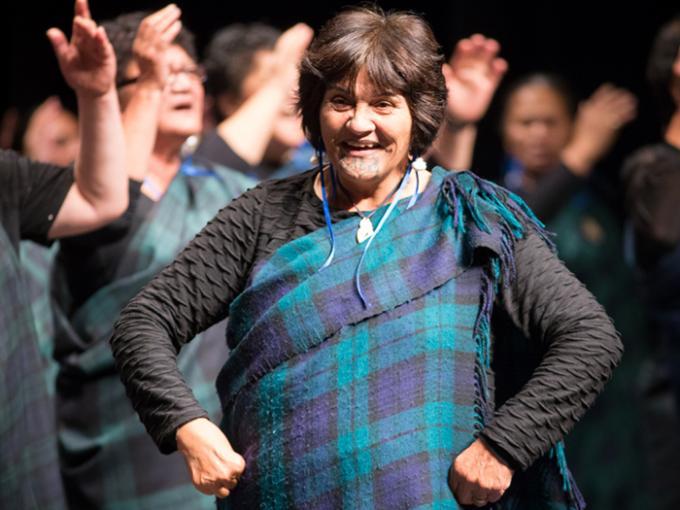 Kaumātua Kapa Haka performance 2015