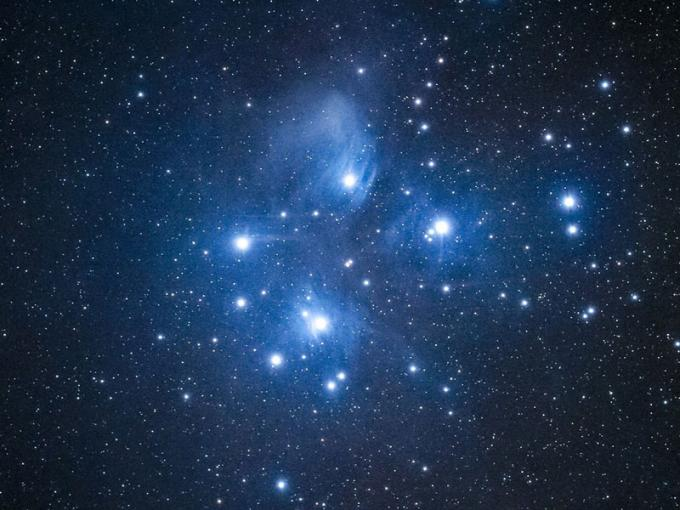 Matariki star cluster