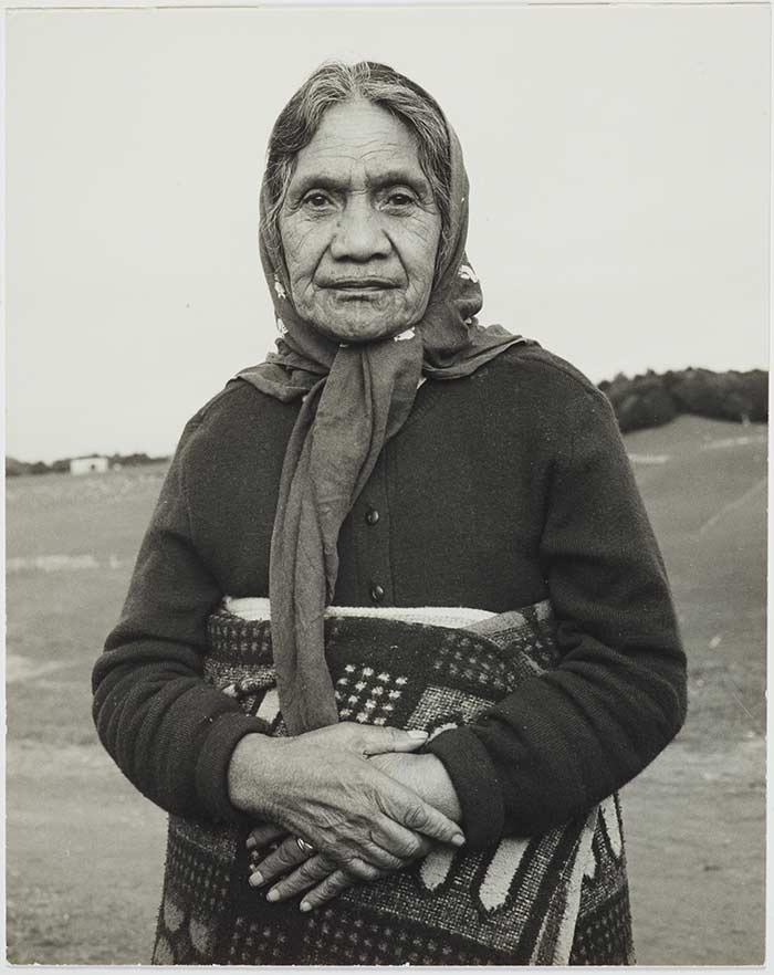 Herepo Rongo. From the series: The Moko Suite, 1970, New Zealand, by Marti Friedlander. Gift of The Gerrard and Marti Friedlander Charitable Trust, 2009. Te Papa (O.033713)