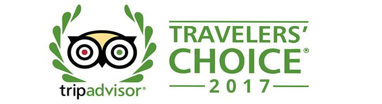 TripAdvisor Travellers' Choice logo endorsement