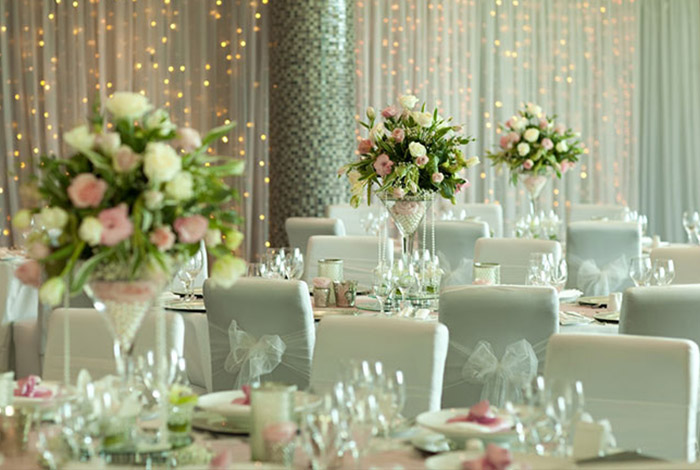 Wedding package - table setting